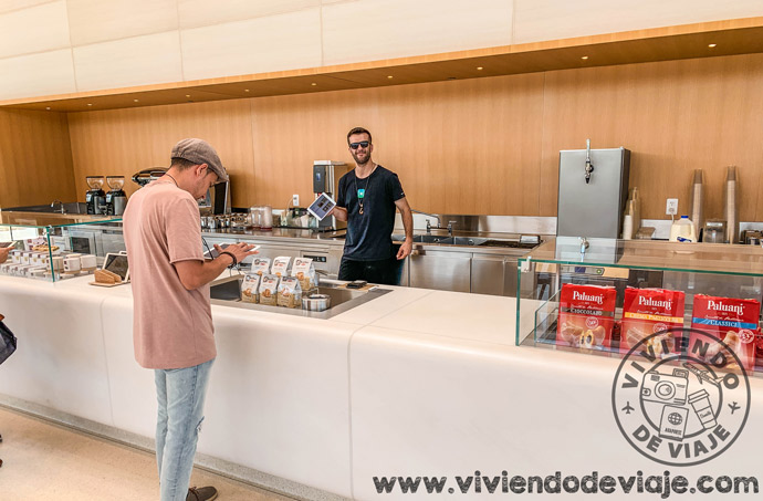 Cafetería del Centro de visitantes del Apple Park