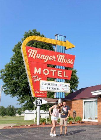 Alojamiento en la Ruta 66, hoteles recomendados