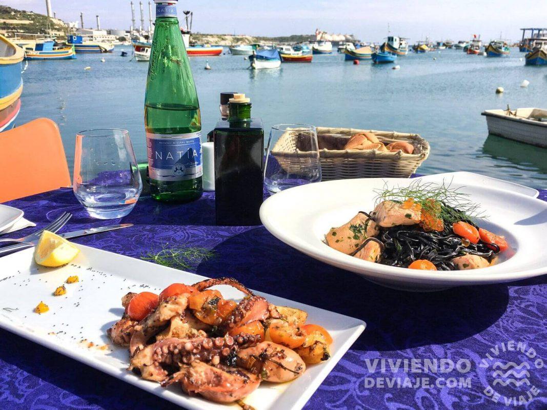 Comer en Malta, lugares recomendados