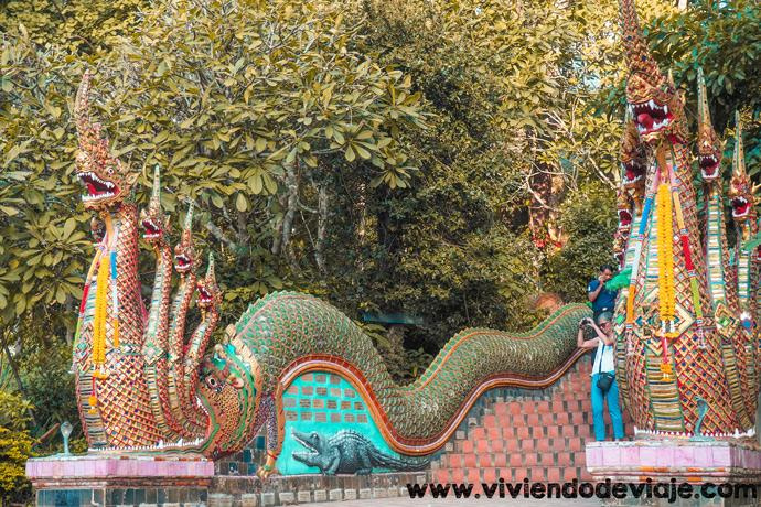 Wat Phra That Doi Suthep, templo de Chiang Mai