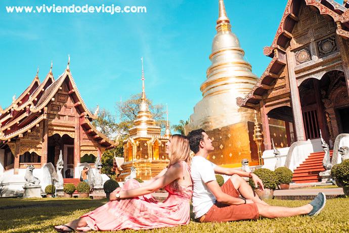 Wat Phra Singh, uno de los templos de Chiang Mai más importantes