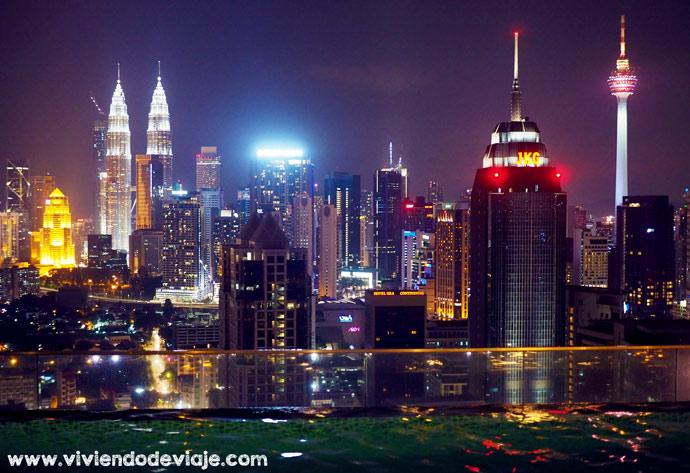Piscina infinita, apartamento Kuala Lumpur