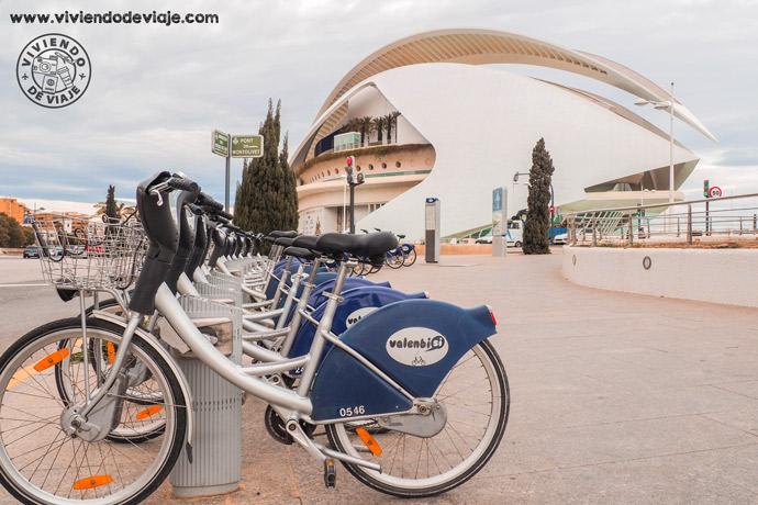 Cómo moverse por Valencia, Valenbisi