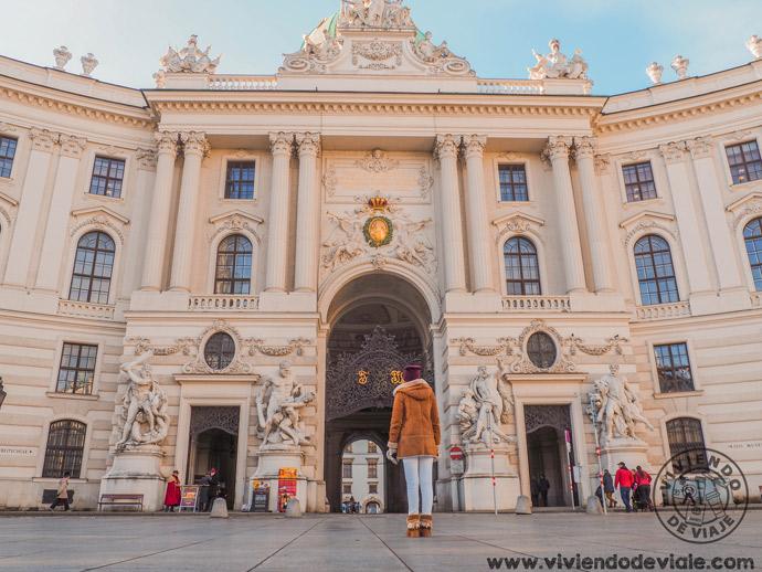 Palacio imperial de Hofburg, una de las cosas que ver en Viena