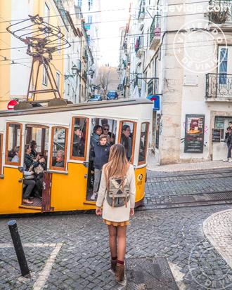 Ascensor da Bica | Rincones imprescindibles de Lisboa