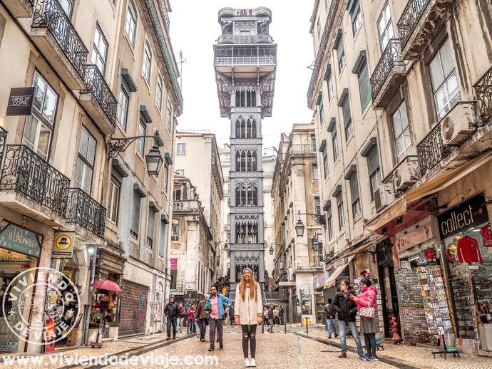 Lugares que ver en Lisboa | Elevador de Santa Justa