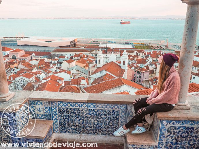 Mirador Portas do Sol | Qué ver en Lisboa al atardecer