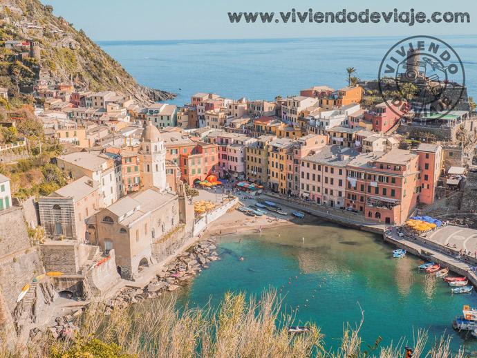 Viaje a Cinque Terre por libre, Vernazza