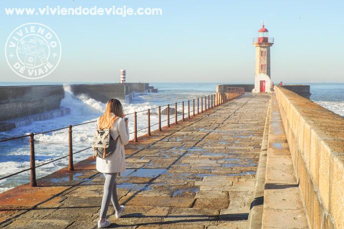 Lugares que ver en Oporto, faro de Felgueiras