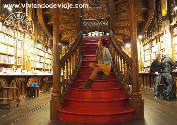 Que hacer en Oporto, librería Lello