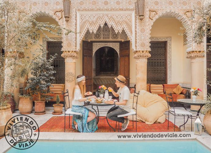 Donde alojarse en Marrakech, Riad Al Loune