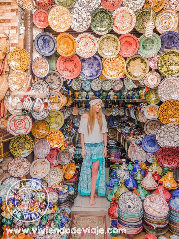 Que ver y hacer en Marrakech, comprar en los zocos