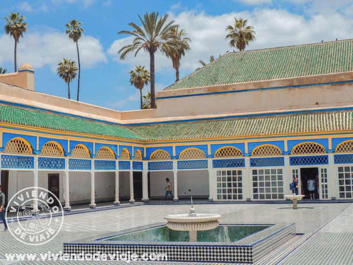 Que hacer en Marrakech, visitar el Palacio de la Bahía