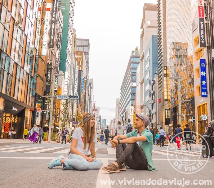 Barrio de Ginza, Tokio