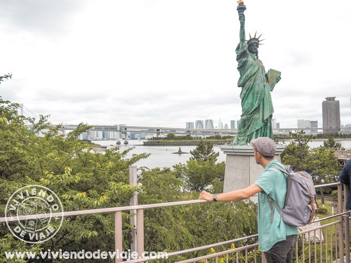 Excursión a la isla de Odaiba, Tokio