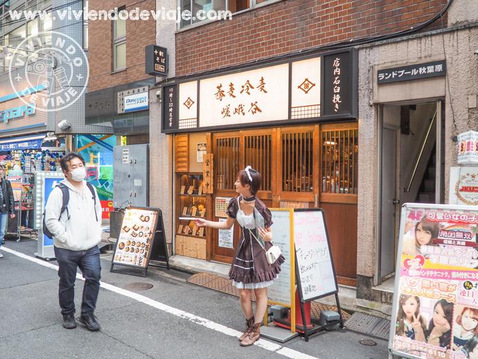 Cosas que hacer en Tokio, ir a un Maid Cafe