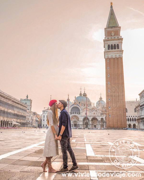 Que ver en Venecia, la plaza de San Marcos