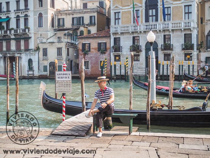 Qué hacer en Venecia, dar un paseo en góndola