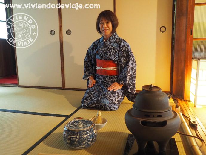Ceremonia del té en Kioto