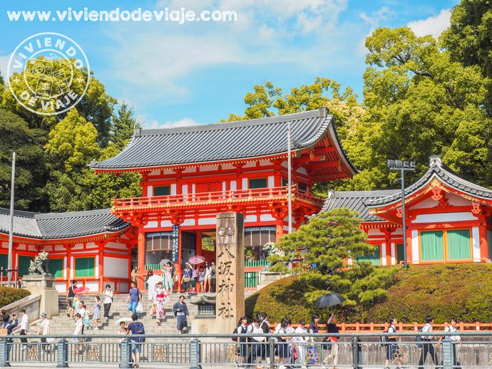 Santuario Sintoísta Yasaka Jinja en Kioto
