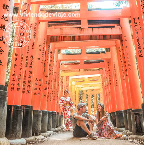 Que vere n Kioto, TemploFushimi Inari-taisha
