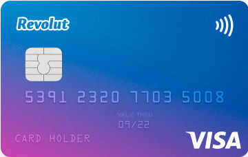Revolut, free card to travel without commissions