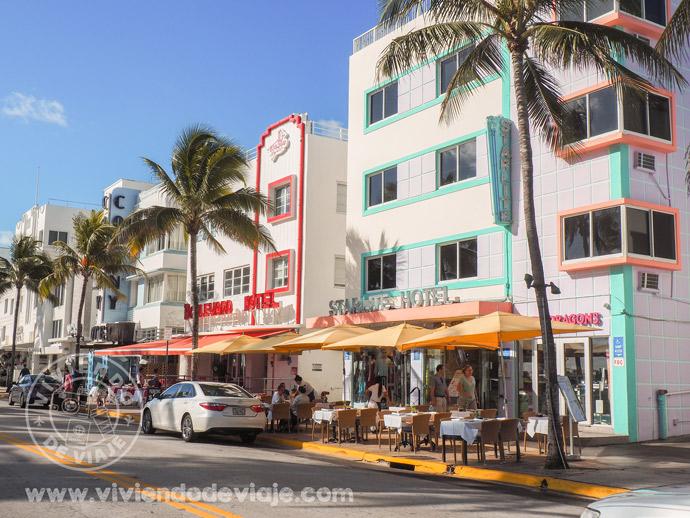 Que ver y hacer en Miami, pasear por Ocean Drive