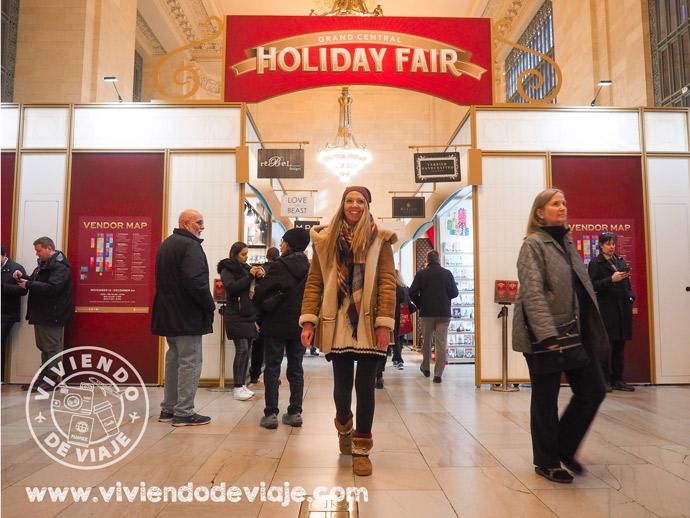 Mercadillos de Navidad en Nueva York | Grand Central Holiday Fair