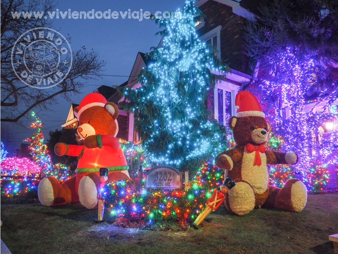 Iluminaciones en Dyker Heights, Brooklyn