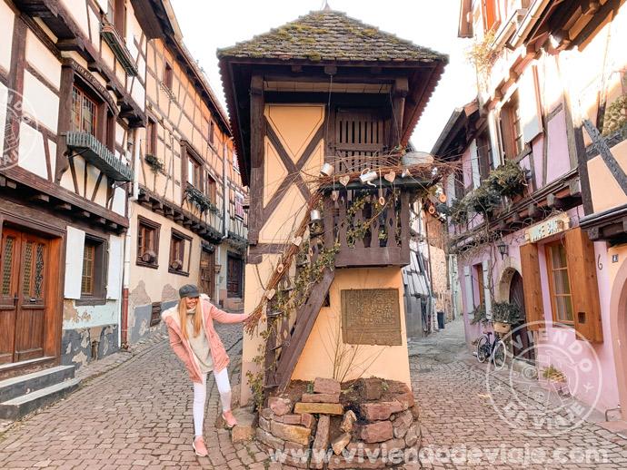 Viaje a Alsacia por libre, Eguisheim