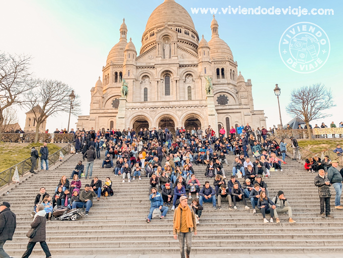 Basílica del Sacré Coeur, París