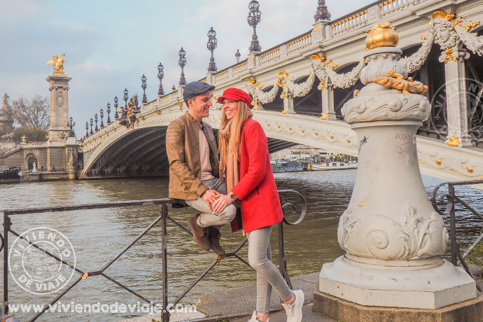 Qué ver en París en 3 días, Puente de Alejandro III
