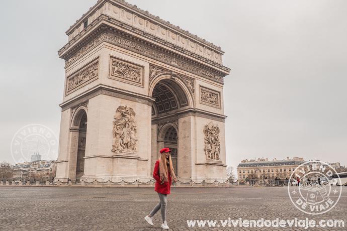 Lugares que ver en París, el Arco del Triunfo
