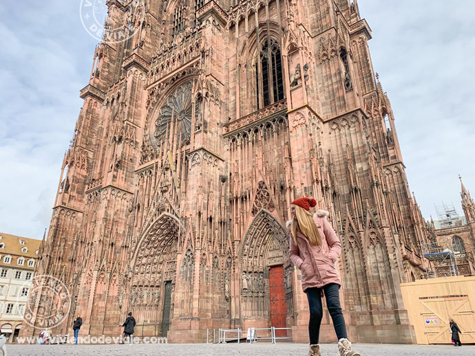 Catedral de Notre Dame en Estrasburgo