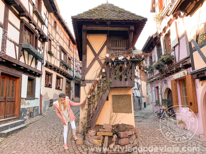 El Pigeonnier enEguisheim, la casita más famosa de toda Alsacia