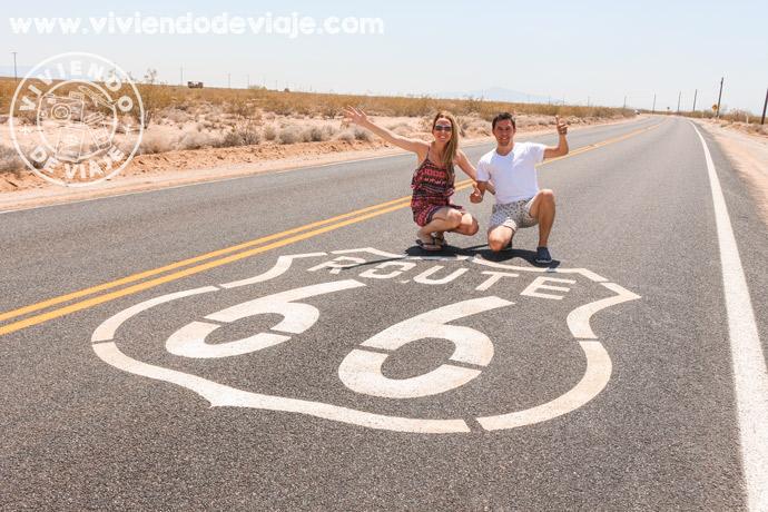 Hacer un tramo de la Ruta 66 desde Las Vegas