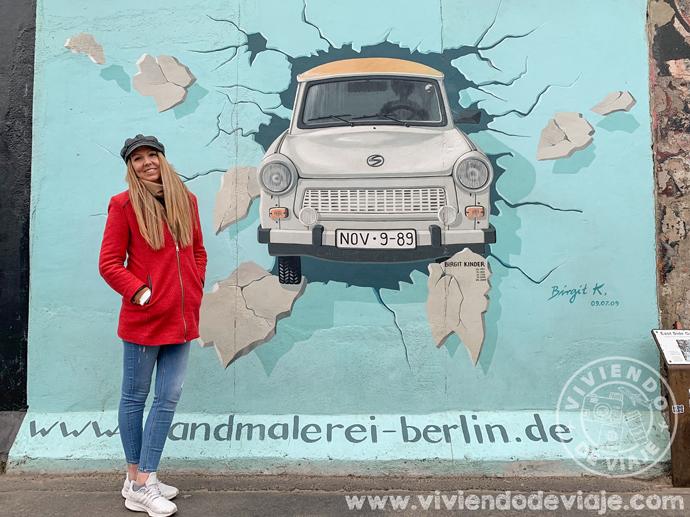 East Gallery, muro de Berlín