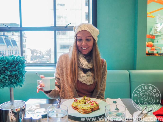Desayunando en Tiffany's, Nueva York