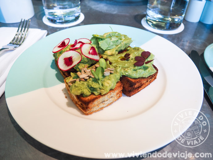 Desayunar en Tiffany's, menu Breakfast