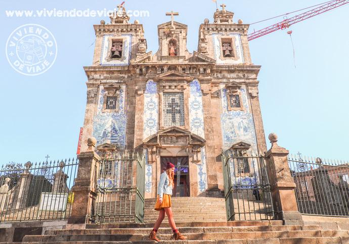 Alojamiento en Oporto.- Zona de San Ildefonso