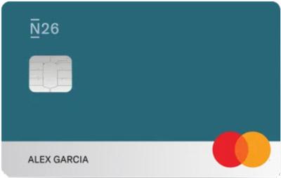 N26 You travel card