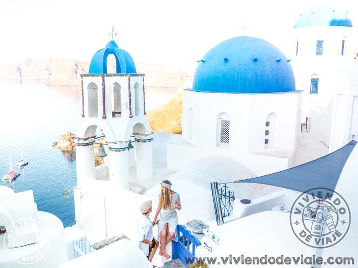 Santorini, viaje por libre islas griegas