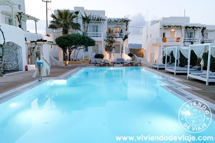 Hotel Corfos en Mykonos