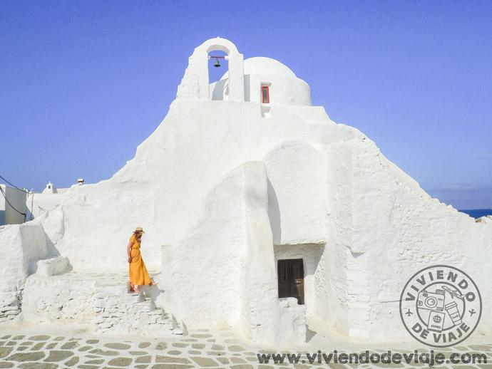 Qué ver en Mykonos, iglesia ortodoxa de Paraportiani