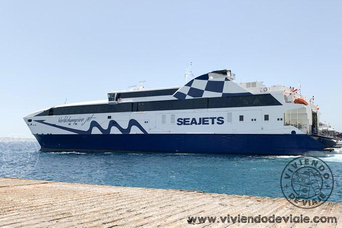 Ferry Seajets, islas griegas