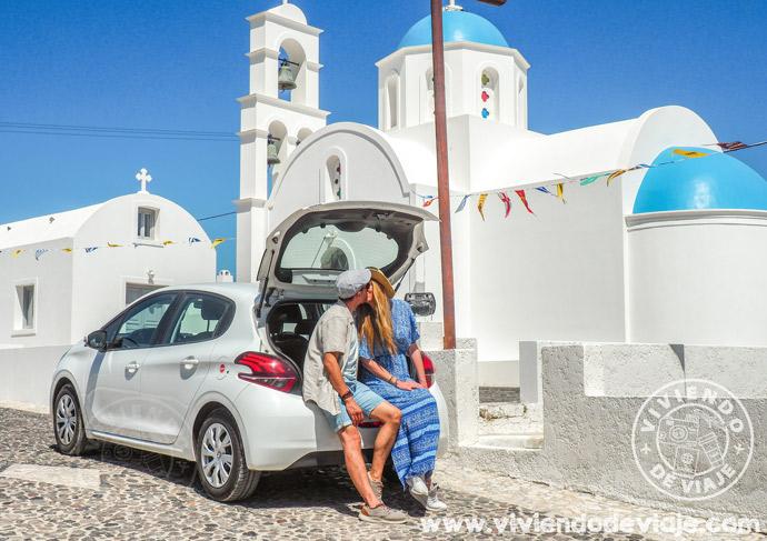 Cómo moverse por las islas griegas con coche de alquiler