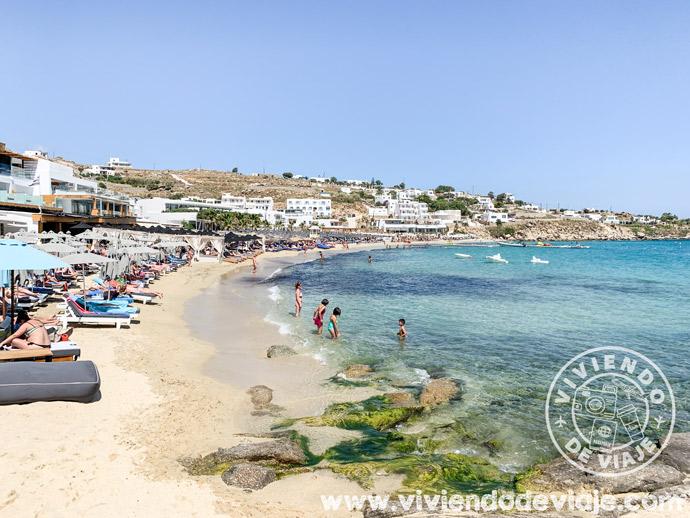 Donde alojarse en Mykonos, Platis Gialos