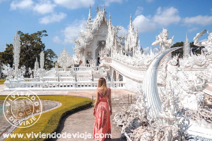 Wat Rong Khun, Chiang Rai - Ruta por Tailandia en 15 días
