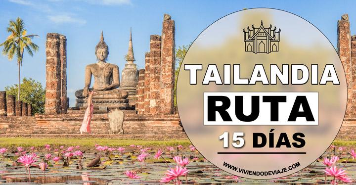 Ruta por Tailandia en 15 días