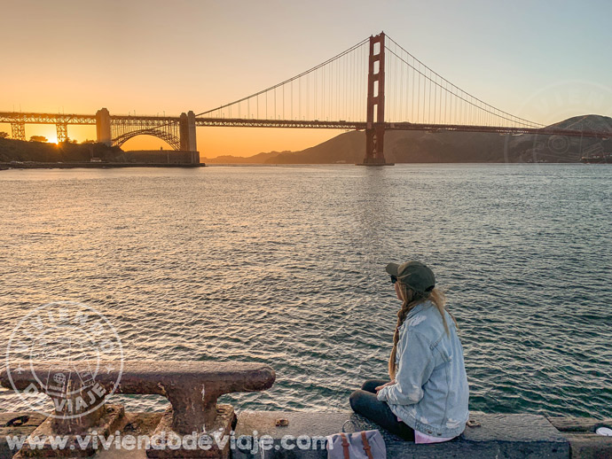 Atardecer en San Francisco